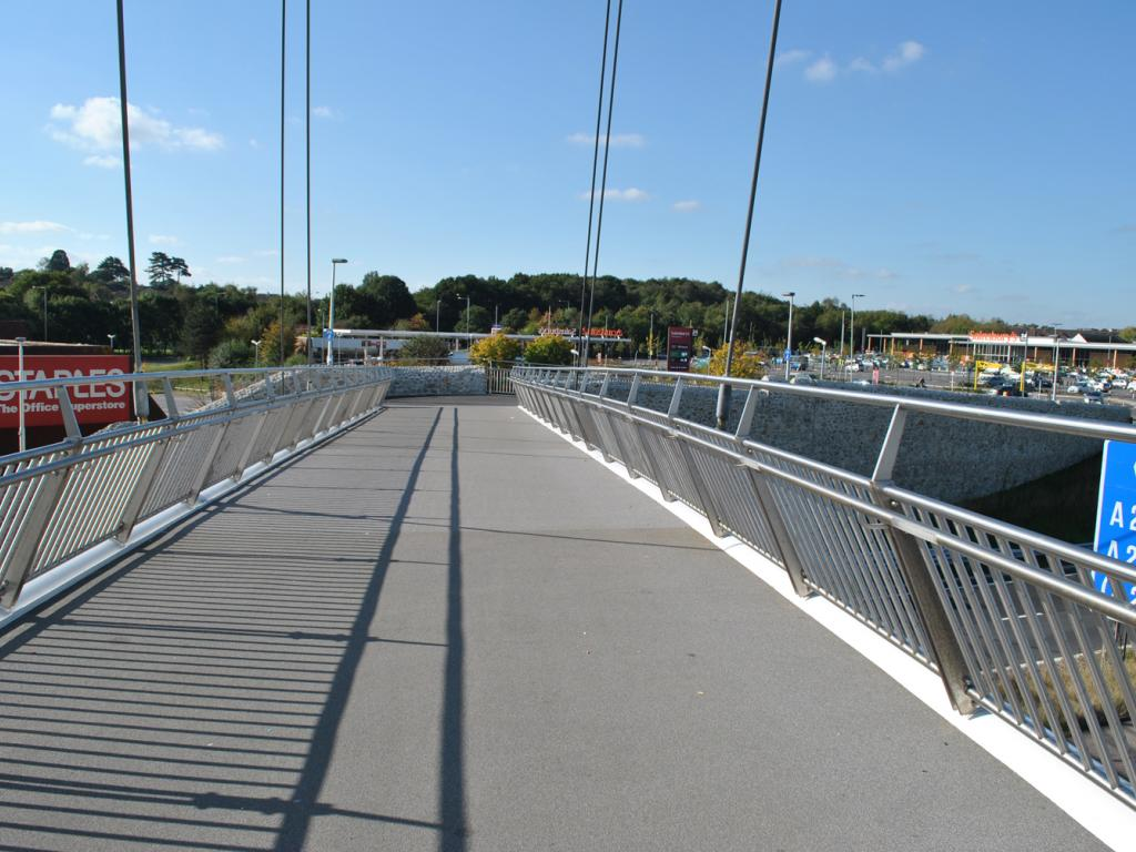 m20 drovers footbridge 4
