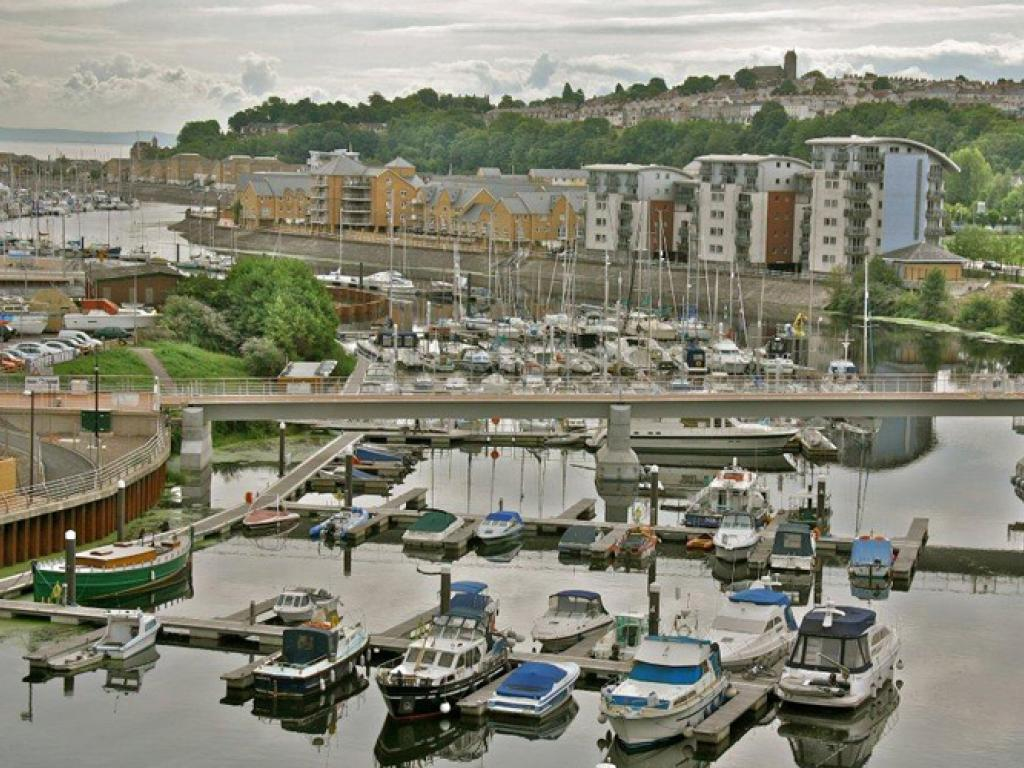 Peoples Bridge - Penarth Marina 2
