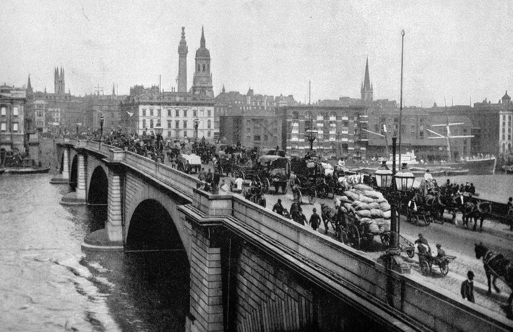 London Bridge 1800s